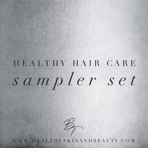 Healthy Hair Care Deluxe Travel Size Sampler Set