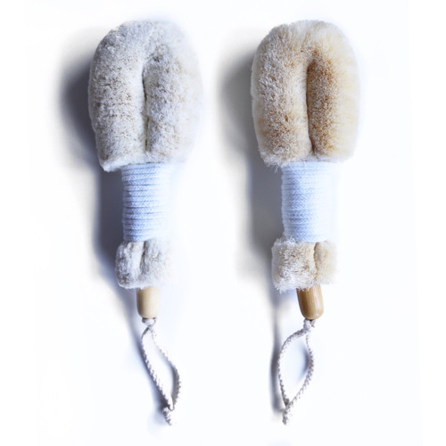 Daily Detox Dry Body Brush Duo (vegan)