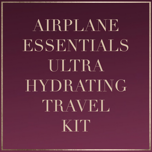 Airplane Essentials: Ultra Hydrating Travel Kit