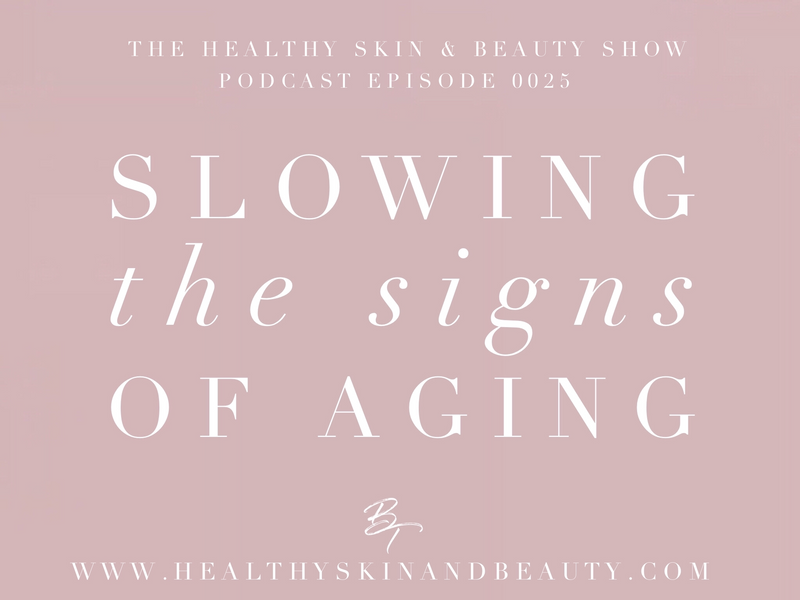Slowing The Signs Of Aging