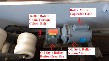 Spinalator Table Roller Rotation Gear Box
