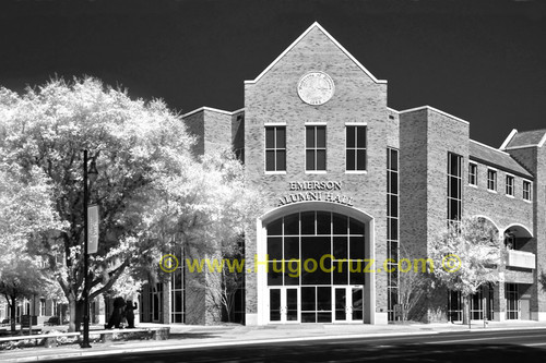 """Emerson Alumni Hall"" - Infrared Photography"