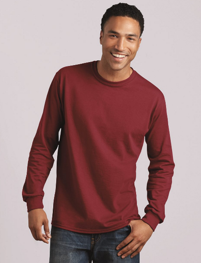 Gildan Long Sleeve Tees ($5.00-2.17)