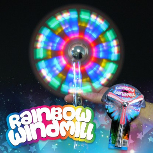 Rainbow Windmill - individual