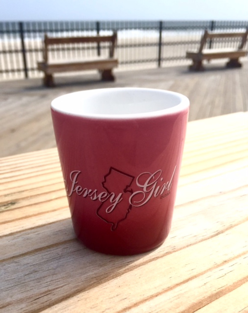 Jersey Girl Ombré Shot Glass