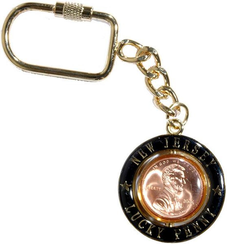 Key Ring Rotator Penny New Jersey