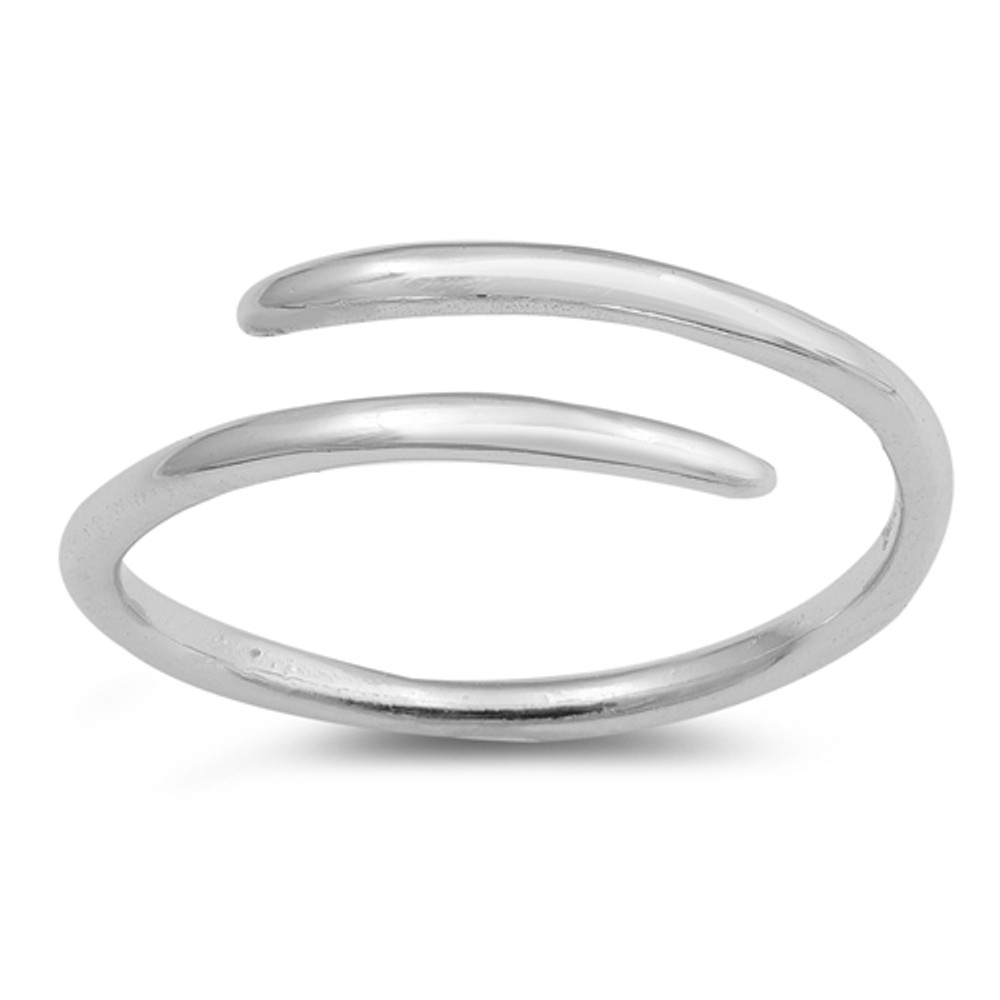 Sterling Silver Wraparound Toe Ring