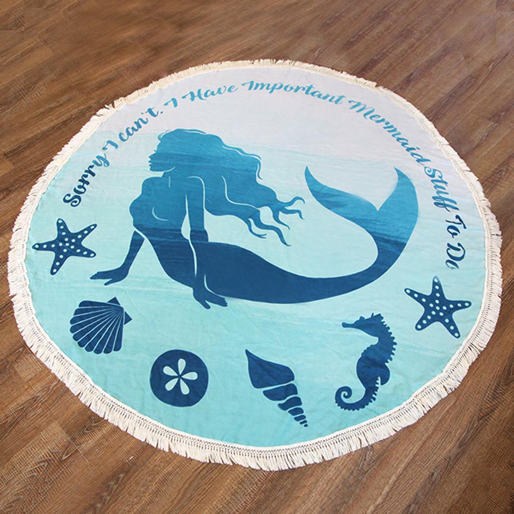 Mermaid Beach Blanket