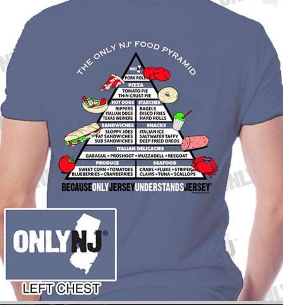 NJ Food Pyramid T-Shirt