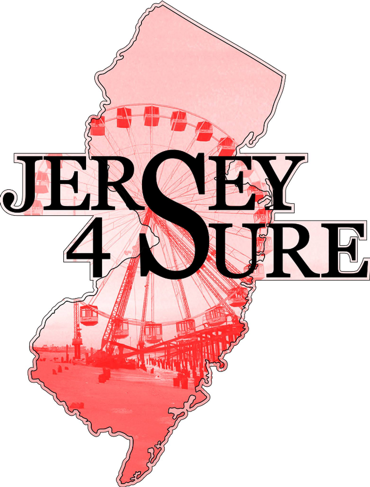 Jersey 4 Sure Beach And Ferris Wheel Car Sticker