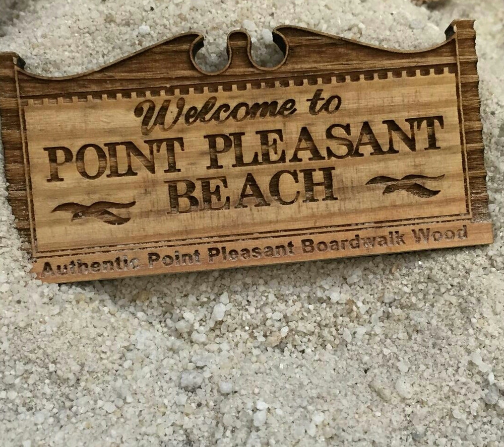 Welcome To Point Pleasant Beach Magnet