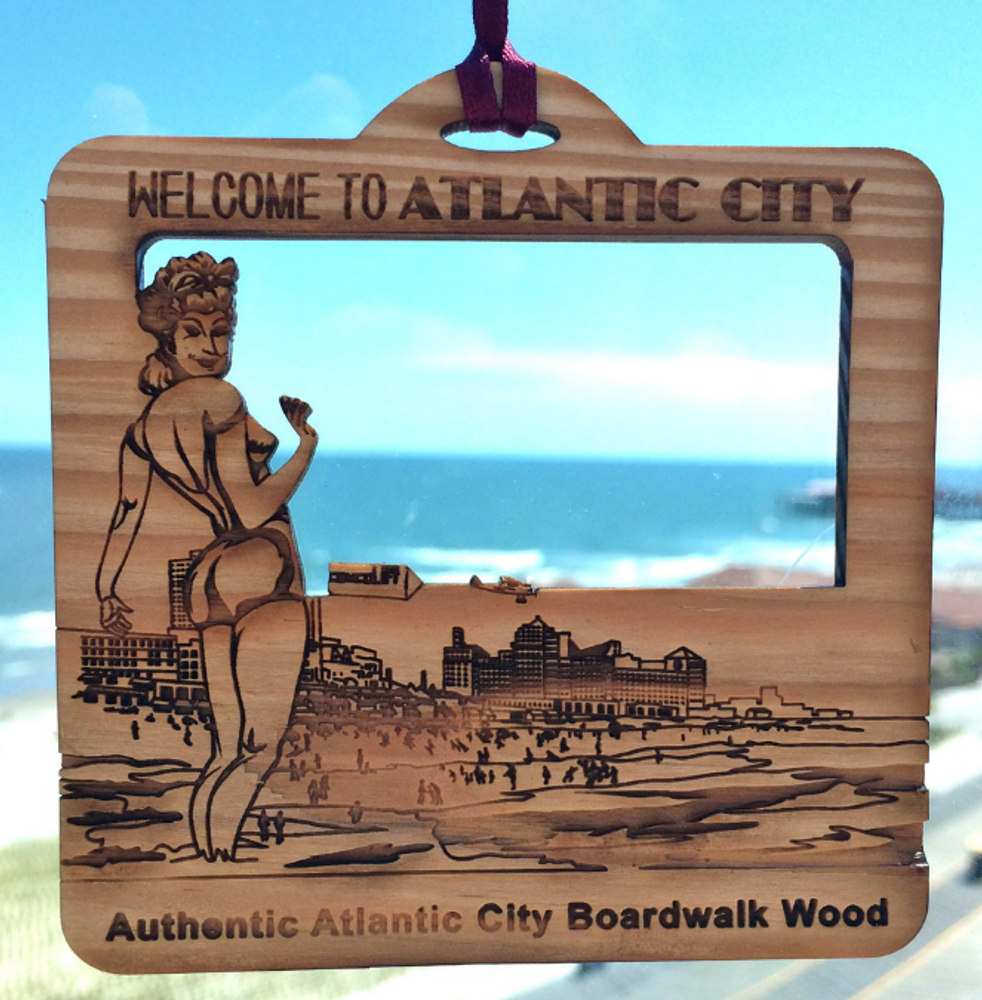 Welcome To Atlantic City Ornament