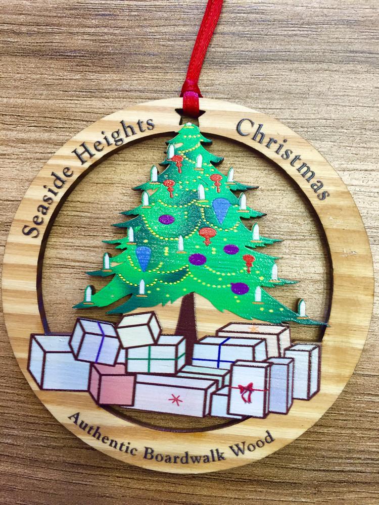 Seaside Heights Christmas Tree Ornament