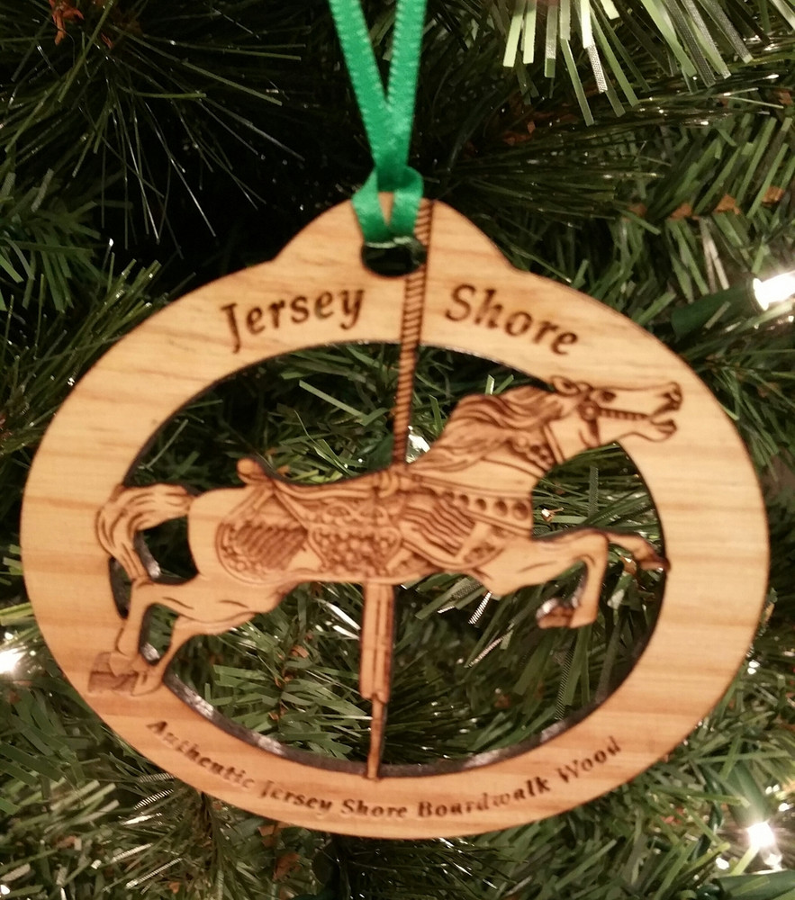 Jersey Shore Carousel Ornament