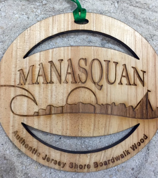 Welcome To Manasquan Ornament