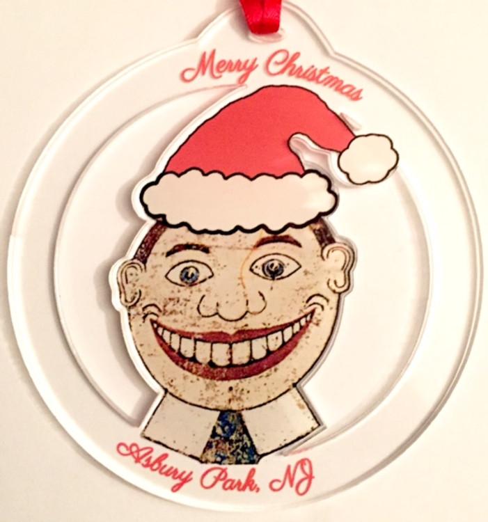 Clear Acrylic Tillie Ornament