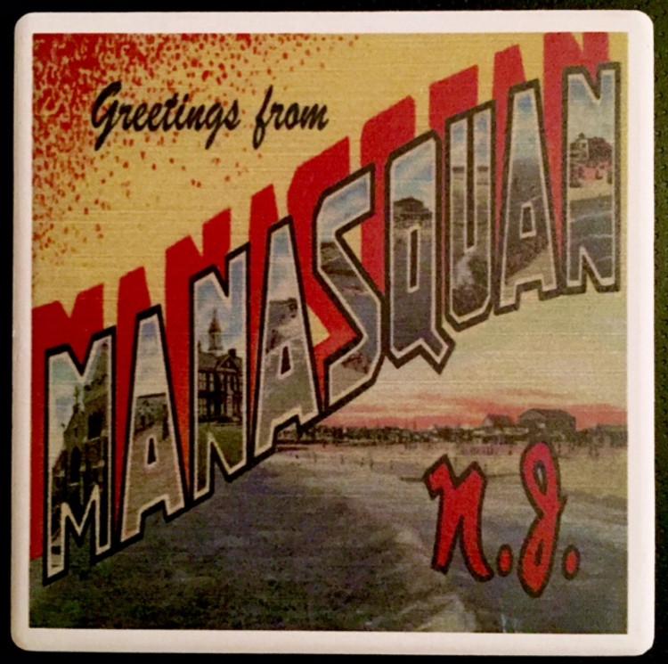 Manasquan Stone Coaster