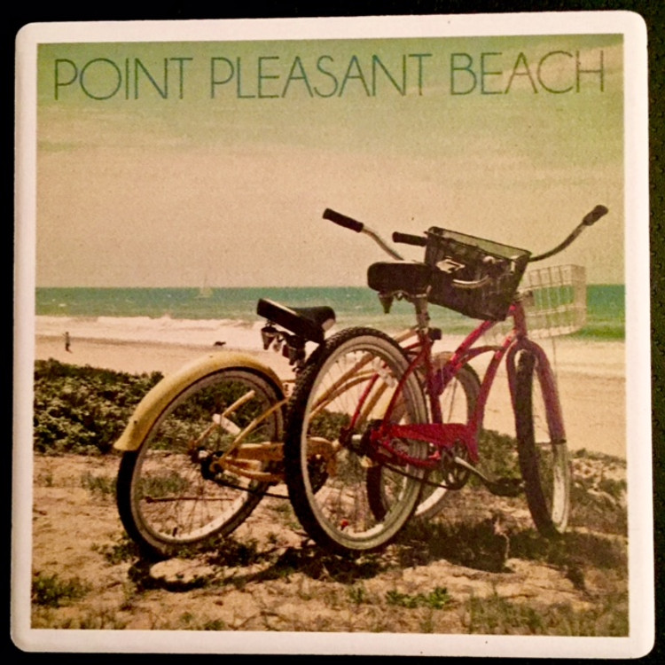 Point Pleasant Beach Stone Coaster