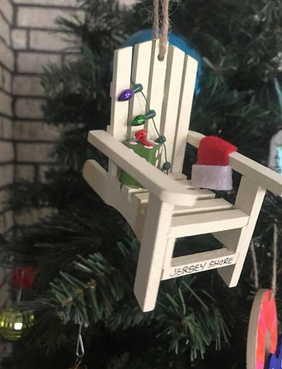 Jersey Shore Adirondack Chair Ornament