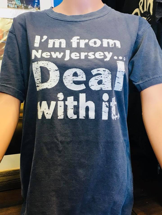 Im From NJ Deal With It T-Shirt