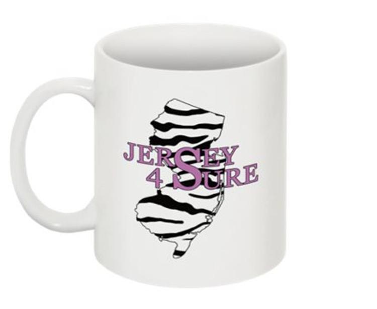 Jersey 4 Sure Mug Zebra