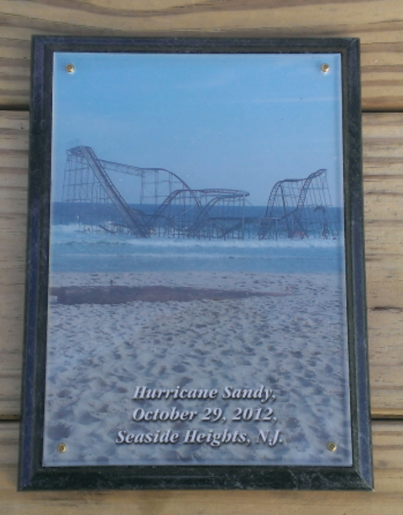 ***New*** Hurricane Sandy Plaque