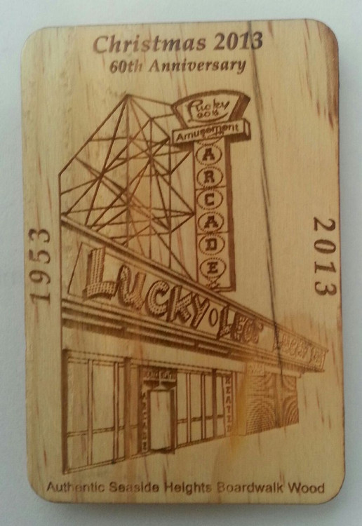 Seaside Heights Lucky Leos 60th Anniversary Magnet