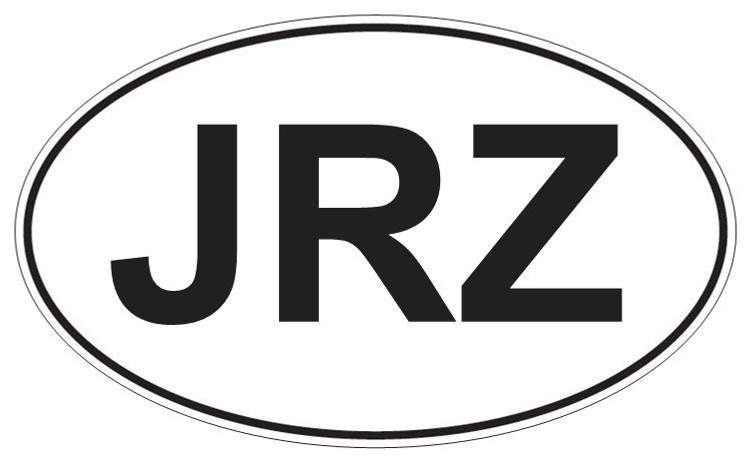 JRZ Sticker Black