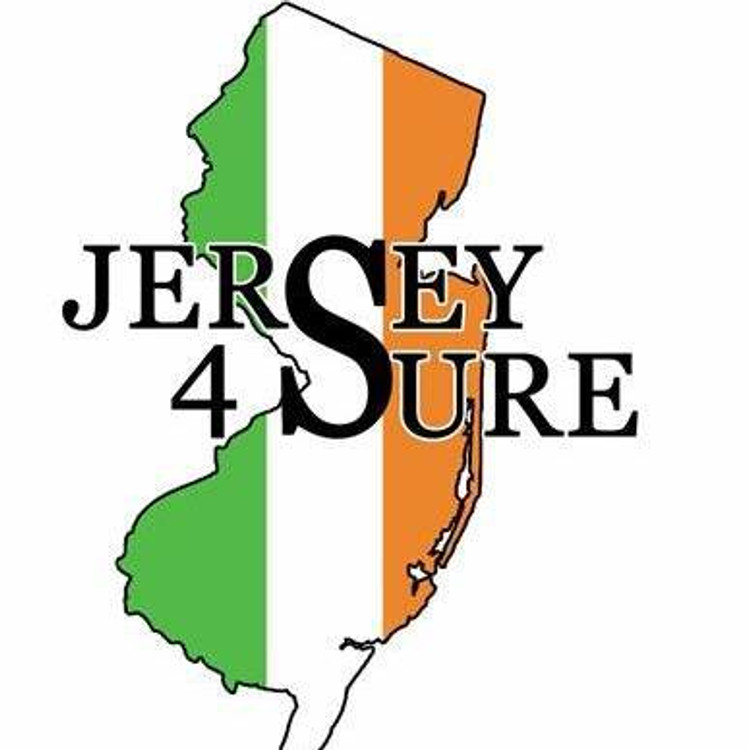 Jersey 4 Sure Irish - Black Logo Car Sticker