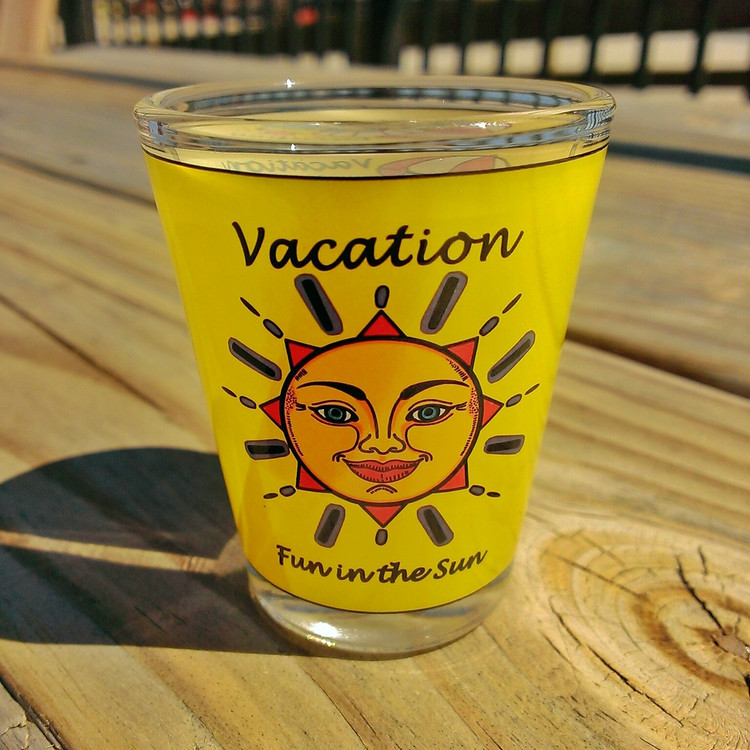Vacation Shot Glass