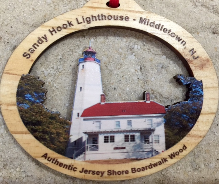 Sandy Hook Lighthouse Ornament