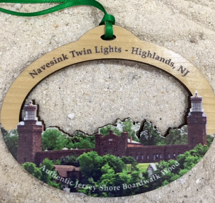 Navesink Twin Lighthouse Ornament