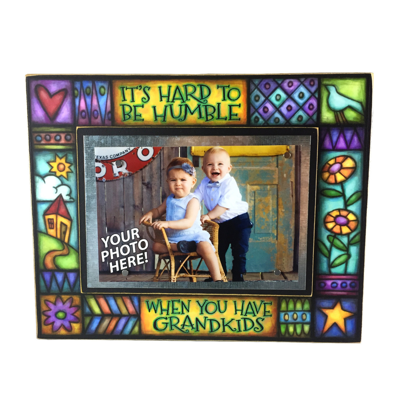 Word Art Frame-Grandkids - Totally Awesome Goods