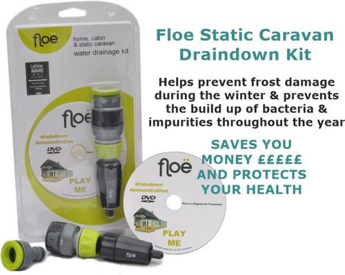 Floe Draindown Kit for Static Caravans
