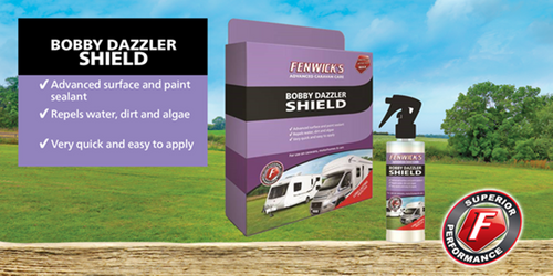 Fenwicks Bobby Dazzler Shield - Good to use on cars, caravans & motorhomes