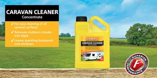 Fenwicks Caravan Cleaner - SAFE on ALL caravan surfaces