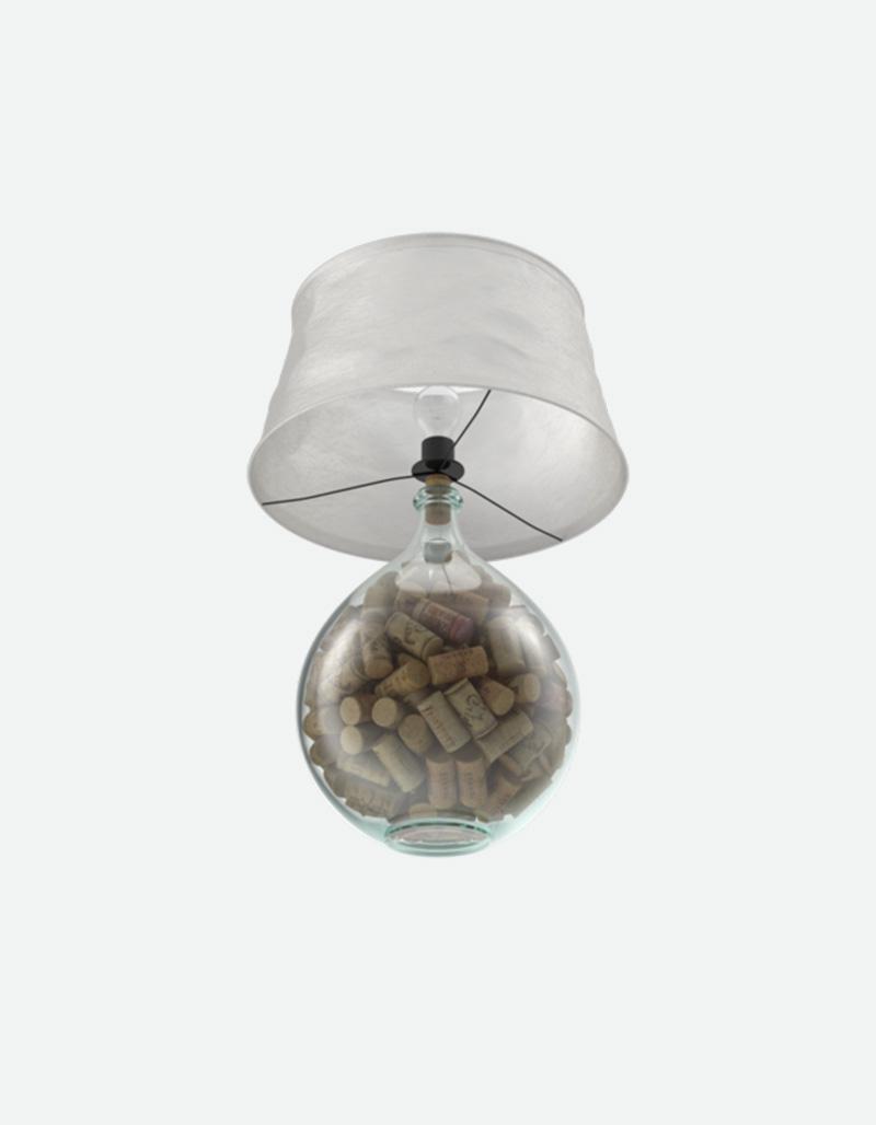Cork Filled Lamp