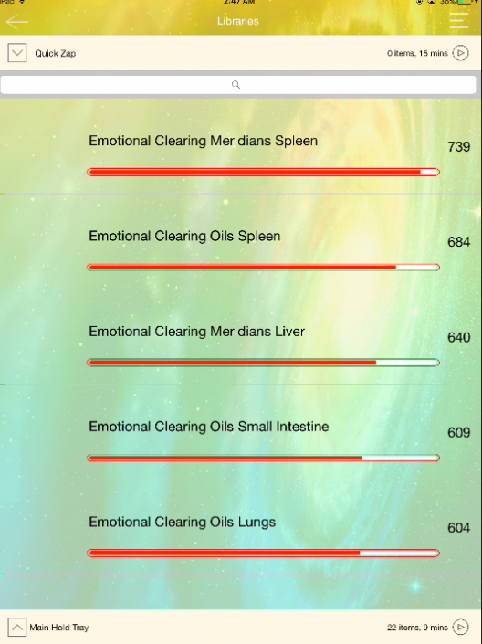 Emotional Clearing - Meridians, Essential Oils and Emotions!