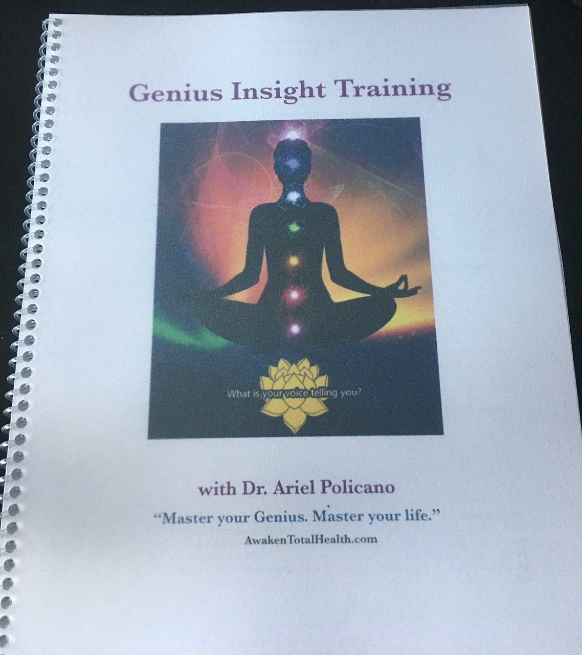 Download the Mastery Guide - Understand how and why the Genius works. Have access to the meaning behind each of the screens. Includes explanation of Nogier frequencies and Meridians.