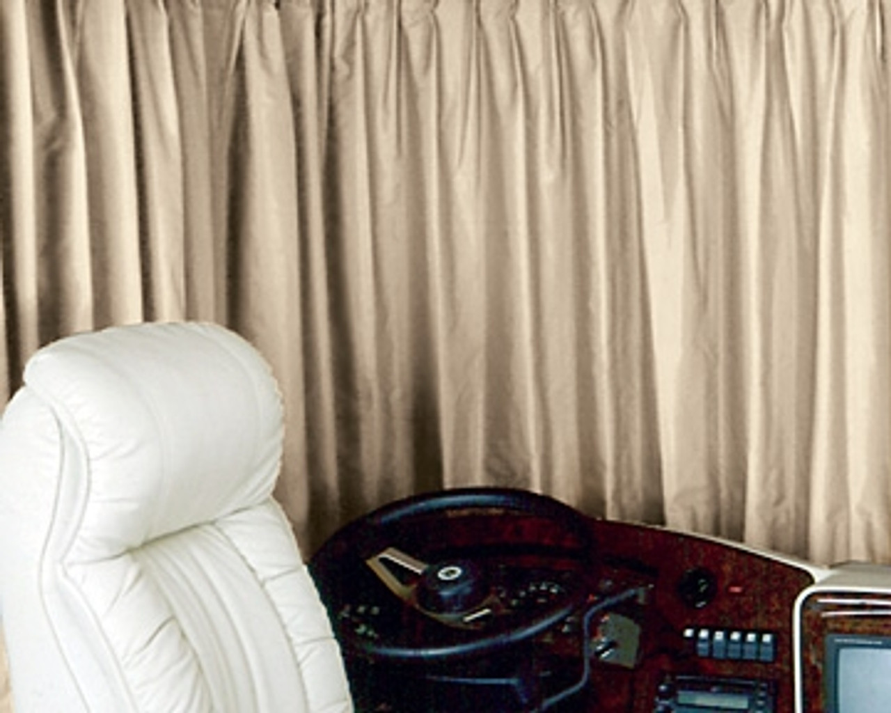 RV Drapes and Window Blinds