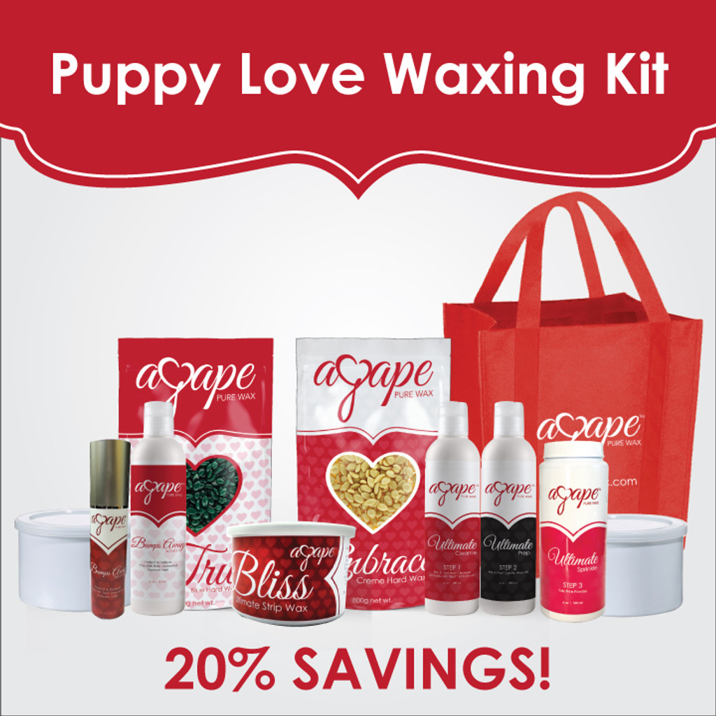 Puppy Love Waxing Kit