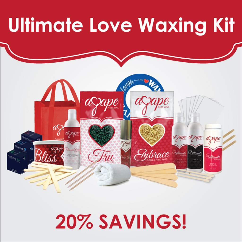 Ultimate Love Waxing Kit