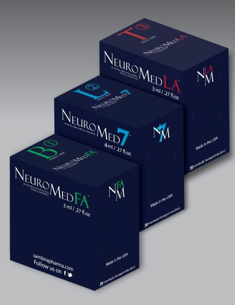 NeuroMed BLT Combination Package (Benzocaine, Lidocaine, and Tetracaine)
