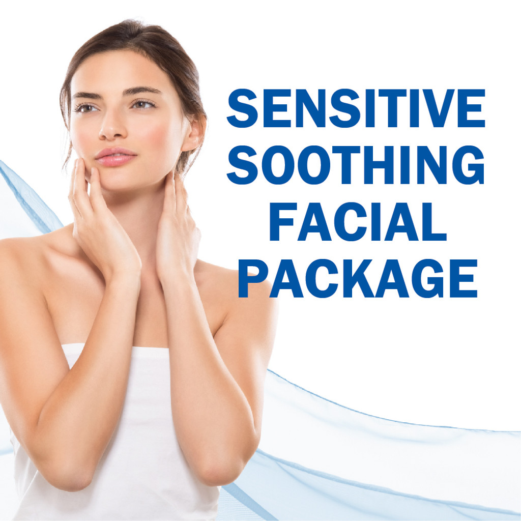 Sensitive Soothing Facial Package