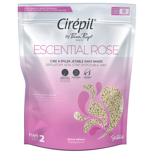 Cirepil Escential Rose NO STRIP HARD Wax 800g