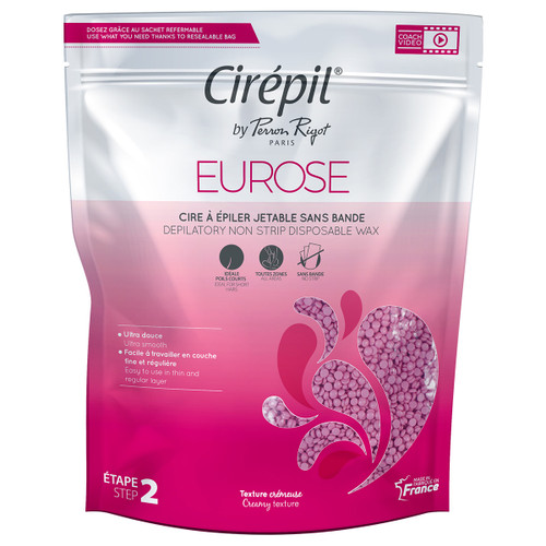 Cirepil Eurose NO STRIP HARD Wax 800g