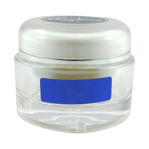 30 ml Acrylic White/Clear Double Wall Jar