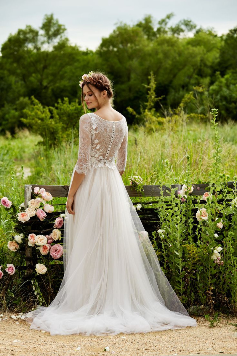 Willowby wedding dress amelie amelie blush bridal junglespirit Image collections