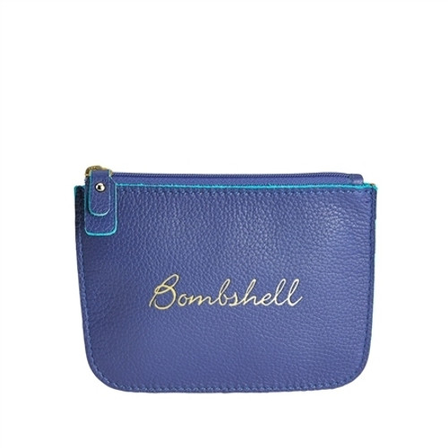 BOMBSHELL LEATHER POUCH