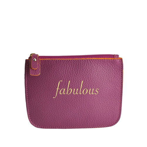 FABULOUS LEATHER POUCH